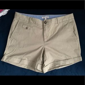 Banana Republic City Chino Shorts Size 8